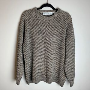 Sweaters - Oversized Balloon Sleeved Dad Sweater